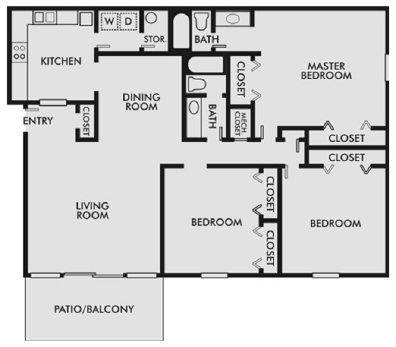 3 BR O and P Bldg